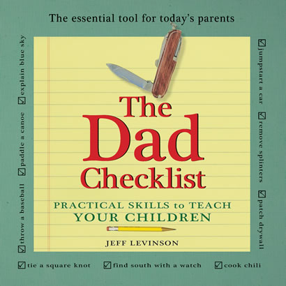 The Dad Checklist - book cover